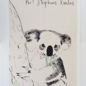 'SES Maree' Tea-Towel - Port Stephens Koala Sanctuary - Port Stephens Koalas